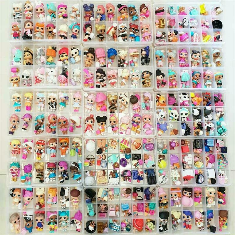 1000 styles LOL Surprise Dolls Glam Glitter Queen Bee UNICORN LIL Sister Pet toy 3