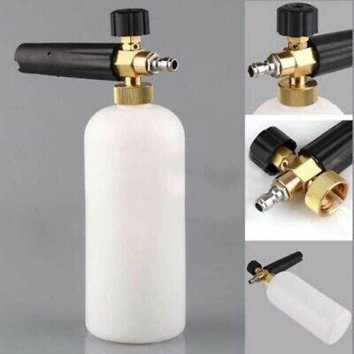 "1/4"" Pressure Snow Foam Washer Jet Car Wash Adjust Lance Soap Spray Cannon 2"