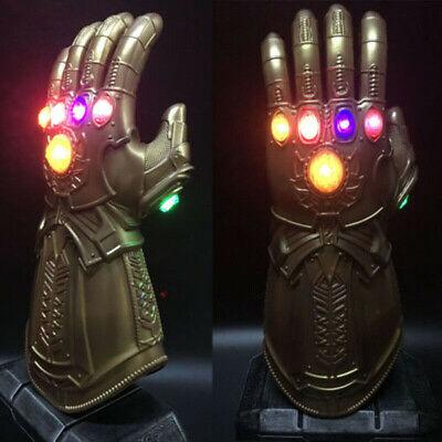 2019 Figure & LED Light Thanos Infinity Gauntlet Marvel Legends Gloves Avengers 3