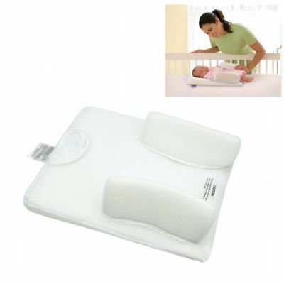 New Infant Anti Roll Baby Cushion Prevent Flat Head Positioner Pillow Newborn 6
