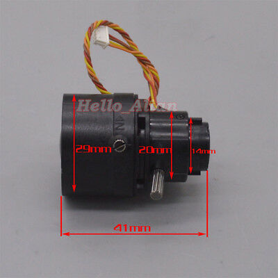 2-Phase 4-Wire Stepper Motor Camera Lens Viewfinder Camera Optical Lens Shutter 2