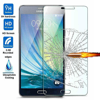 Premium Real Tempered Glass Screen Protector Protective Film Cover For Samsung 2