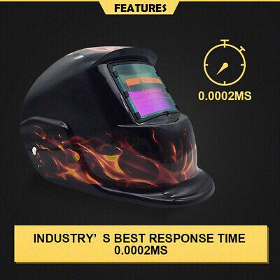 New Solar Auto Darkening Welding Helmet Mask ARC TIG MAG High Quality AU 3