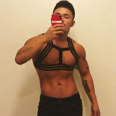 Männer Body Chest Harness Brustharness Herren Gay Geschirr Unterwäsche Clubwear 2