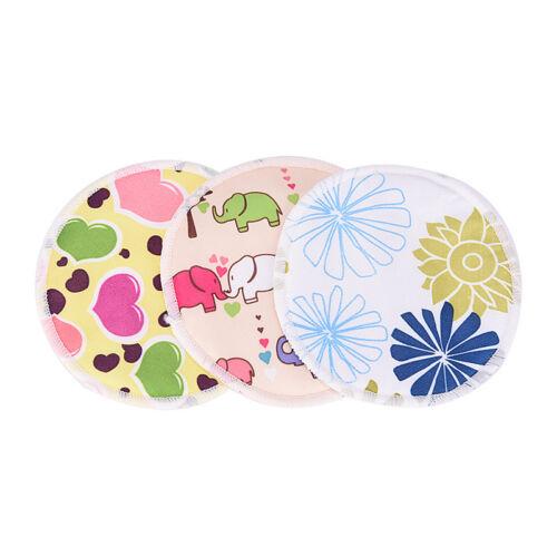 Bamboo Reusable Breast Pads Nursing Maternity Organic Washable Pad WaterproofGNC 5
