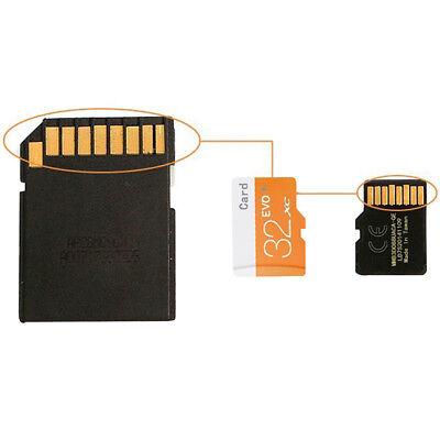 128GB /32GB /64GB Flash Speicherkarte Micro SD Class 10 mit Adapter für Kamera
