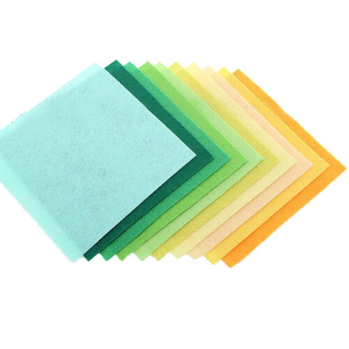 40pc /set Stoffa colorata in feltro non tessuto fatto a mano 40 fogli 15 * 15 cm 4