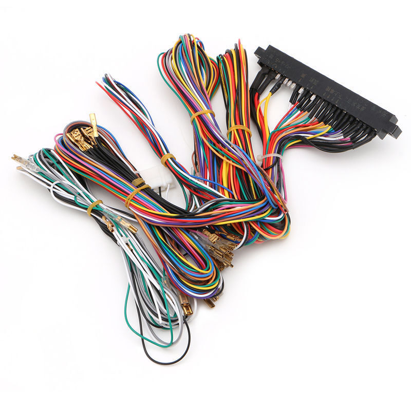 60 in 1 jamma wiring harness multicade arcade game cabinet ... wire harness plug porsche 911 wire harness labeling