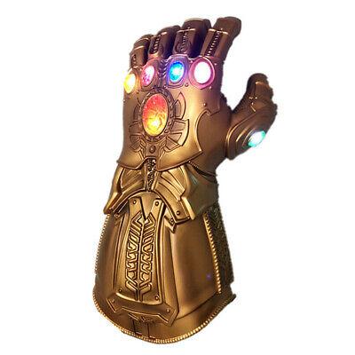 2019 Figure & LED Light Thanos Infinity Gauntlet Marvel Legends Gloves Avengers 6