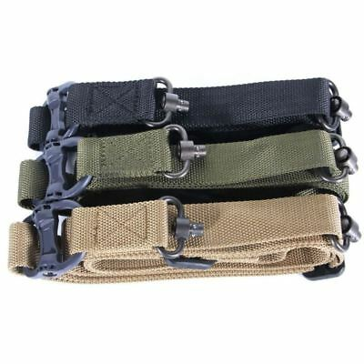 "Adjust Retro Tactical Quick Detach QD 1 or 2Point Multi Mission 1.2"" Rifle Sling 5"