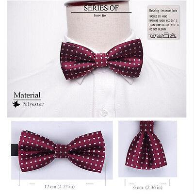 Bow tie Men's formal necktie boy Fashion business wedding party Gift bow tie 2
