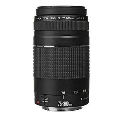 Canon EOS 4000D Rebel T100 18MP DSLR Camera + EF-S 18-55mm and EF 75-300 Lenses 4