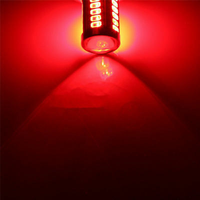 2x 1156 BA15S P21W Red LED 33SMD 5630 Car Turn Signal Blinker Lights DRL 5