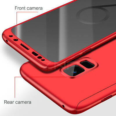 Luxury 360 Degree Full Cover Phone Shockproof Case For Samsung Galaxy S9 S10Plus 5
