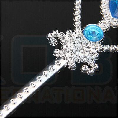 Vicloon Ice Princess Elsa Accessories Set  Tiara Crown and Magic Wand Girls Gift 10