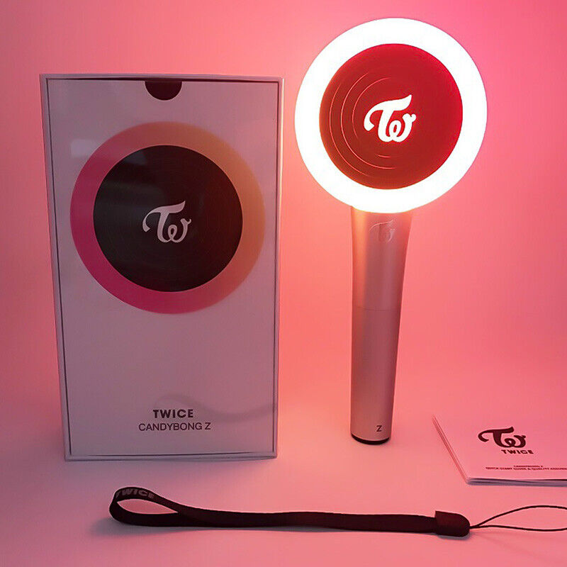 TWICE [CANDY BONG Z] Official World Tour Support Light Stick Ver.2 +Free Gard lf 7