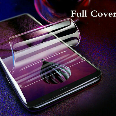 Hydrogel Full Coverage Screen Protector Samsung Galaxy S8 S9 S10 Plus 10e Note10 9