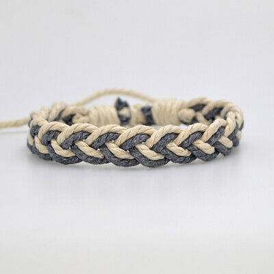 Fashion Girl's Hemp Rope Weave Bracelet Simple Accessories Jewelry Gift 5