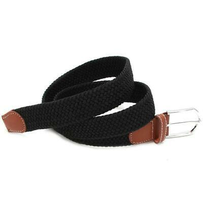 Belt Men Braided Stretch Belt No Holes Elastic Fabric Woven Belts BL3 12