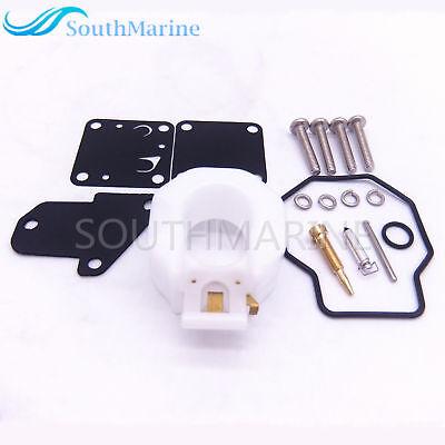 6E3-W0093-00 01 Carburetor Carb Repair Kit for Yamaha Outboard 4HP 5HP 4M 5M 4T
