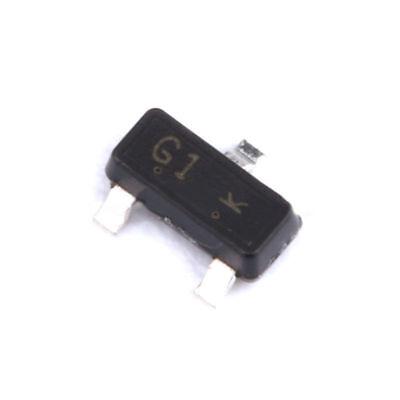 25x BCR533E6327 Transistor NPN bipolar BRT 50V 500mA 330mW SOT23 R1 10kΩ