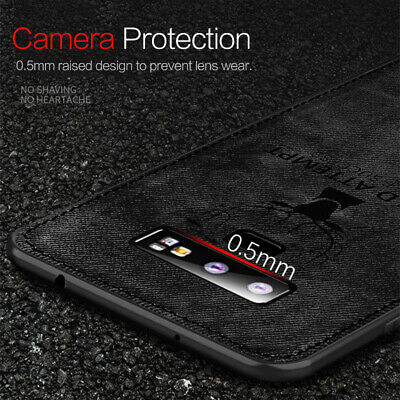 For Samsung Galaxy S10 Plus S10E Case Hybrid Soft TPU Leather Matte Back Cover 9