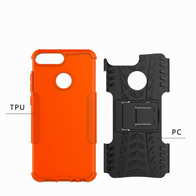 Heavy Duty Gorilla Shock Proof Stand Case Cover Military Builder Huawei Y6  2018