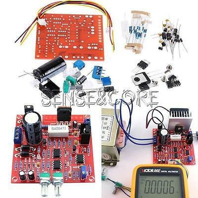 0-30V 2mA-3A Adjustable DC Regulated Power Supply DIY Kit Short with Protection 3