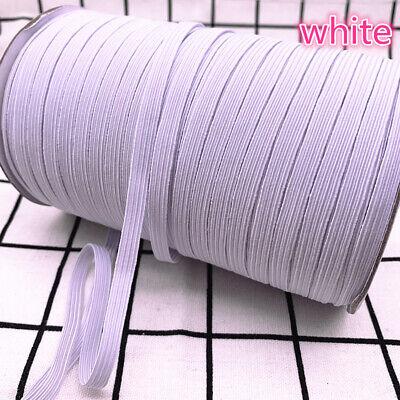 5yds 6mm Hight Elastic Bands Spool Sewing Band Flat Elastic Cord diy Sewmaterial 3