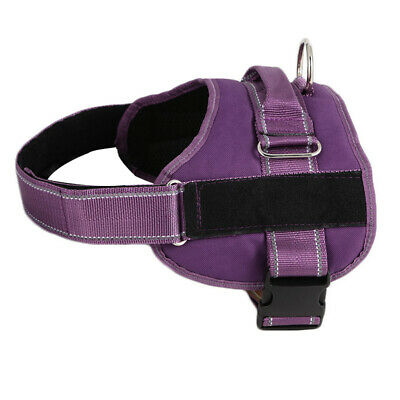 ESA Dog Harness No Pull Collar Patch Emotional Support Therapy Pet Service Vest 6