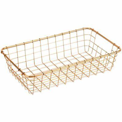 Zuo 3 Piece Basket Set in Gold 5
