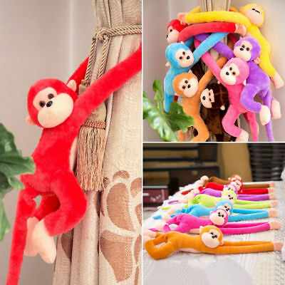 Baby Kids Soft Plush Toys Cute Colorful Long Arm Monkey Stuffed Animal Doll 4