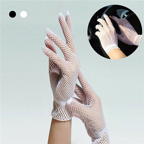 Hot Sexy Women's Girls' Bridal Evening Wedding Party Prom Driving Lace GloveJGUS 2