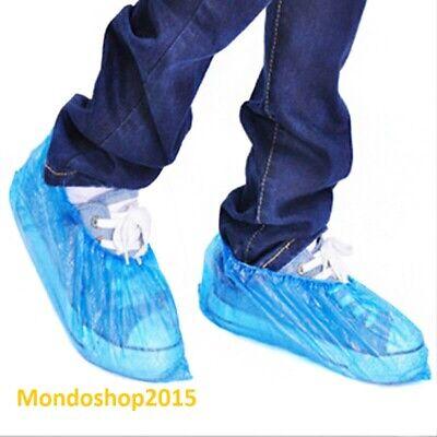 100 pezzi Copriscarpe Calzari Copriscarpa Coprire le scarpe Monouso usa e getta 2