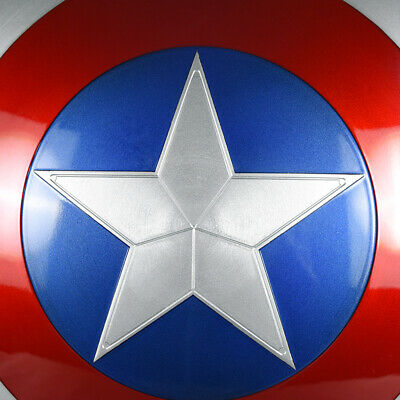 CATTOYS 2018 Version 1:1 The Avengers Captain America ABS Shield Repilica Prop 9 4