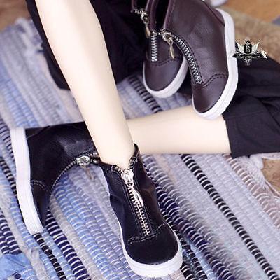 70cm Uncle BJD Shoes SD17 Dollfie black Nubuck leather Boots MID DOD AOD SOOM AF
