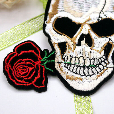 New Embroidered Applique Iron On Patch design DIY Sew Iron On Patch Badge pick 3