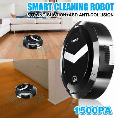 Robot Aspirapolvere Automatico Intelligente Pulizia Casa Pavimento Polvere Pelo 3