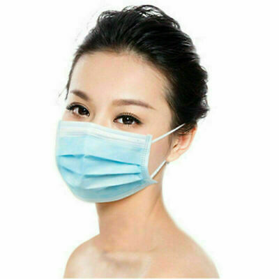 40 PCS Face Mask Medical Surgical Dental Disposable 3-Ply Earloop Mouth Cover 2