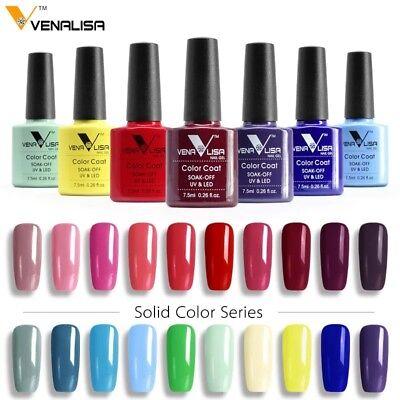CANNI Venalisa Nail Gel Art Design Manicure 7.5Ml Soak Off Enamel Polish LED UV 3