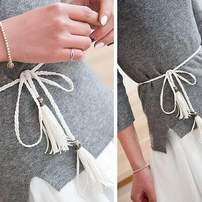 Mujer Metal Hojas Cintura Elástica Vestido Cinturón Elástico Fina Tira