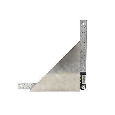 200 mm 8 inch Electronic Digital Protractor Goniometer Angle Finder Steel Ruler 8