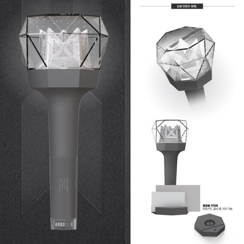 [MONSTA X]-MONSTA X OFFICIAL LIGHT STICK VER.2 Free Shipping+ Tracking In Stock 2
