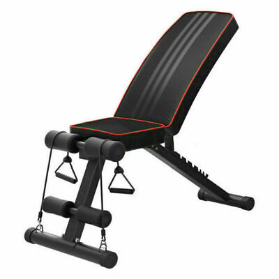 Adjustable Fitness Weight Bench Multi Gym Dumbbell Folding Flat Incline Decline 3