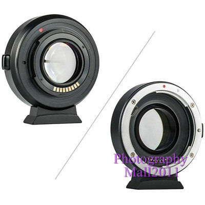 Viltrox EF-EOS M2 II AF Lens Adapter for Canon EF Lens to Canon EOS-M50 M3 M6 M2 7
