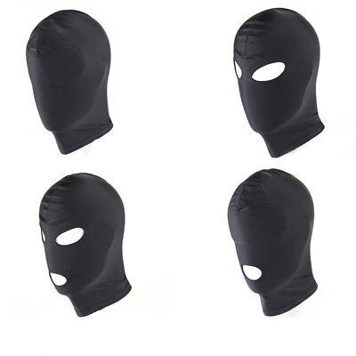 Kopfhaube BDSM Slave Spiel Bondage Restraint Gesicht Maske Augenbinde SexLKD 2
