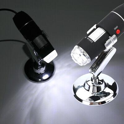 1600X Zoom 3in1 HD 1080P USB Microscope Digital Magnifier Endoscope Video Camera 2