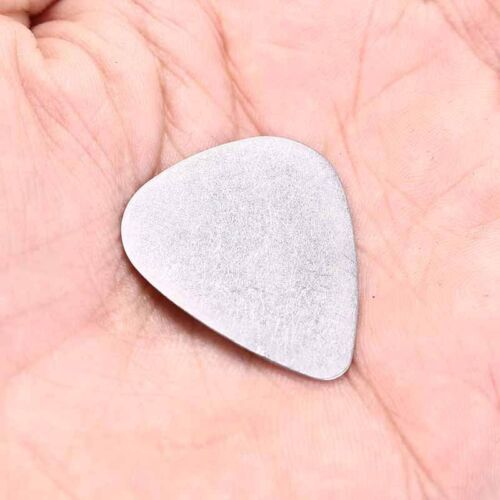 12X bass guitar pick stainless steel acoustic electric guitar plectrums 0.3 Al 4
