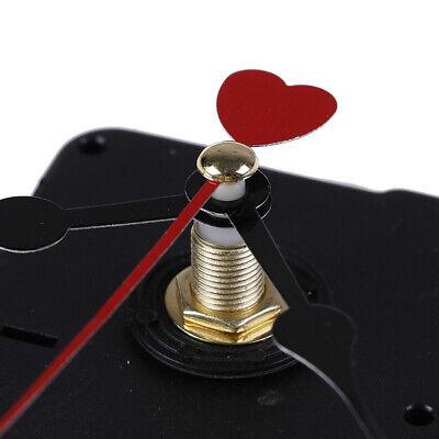 Rotes Herz Hände diy quarz Wanduhr Bewegungsmechanismus Ersatzteile