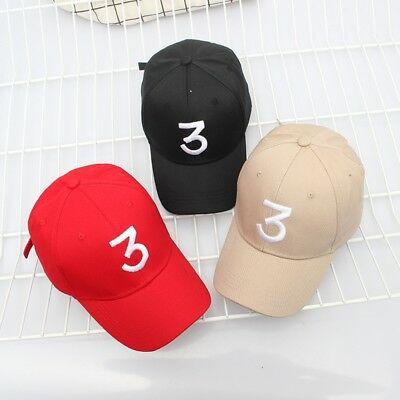 3 Baseball Cap Tide Snapback Caps Popular Chance The Rapper Hip-hop Hats E7CX 2
